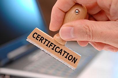 Export-Certifications