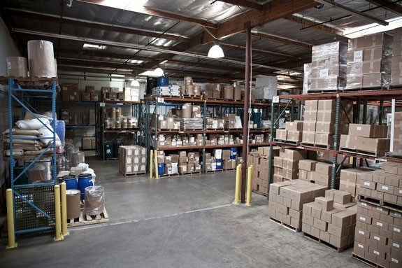 GMP's warehouse is adequate to be able to segregate storage of Allergen's away from Non-Allergen Materials